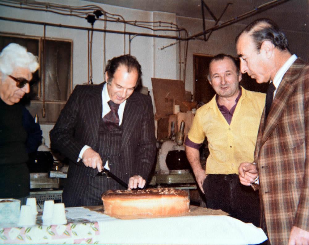 1972 - Δημιουργία εργαστήριου παραγωγή οφθαλμικών φακών Diamond Lens